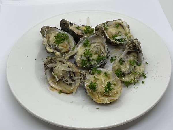 Ellison's Baked Oysters